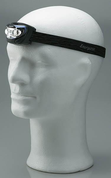 Energizer Headlight, Kopflampe mit 3 LEDs, inklusive 3 AAA-Batterien