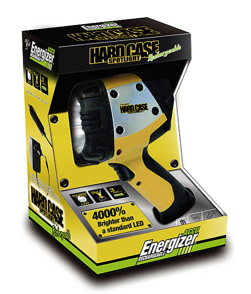Energizer Hardcase Spotlight, wiederaufladbar