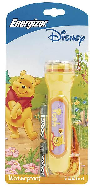 Energizer Kinder-Taschenlampe Winnie the Pooh, inkl. 2 AA-Batterien