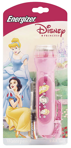 Energizer Kinder-Taschenlampe Princess, inkl. 2 AA-Batterien