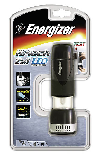 Energizer Taschenlampe Hi-tech LED 2in1