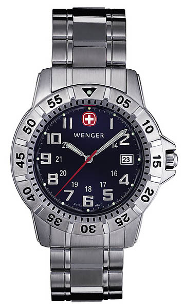 Wenger Swiss Watch, Modell Mountaineer, 40 mm