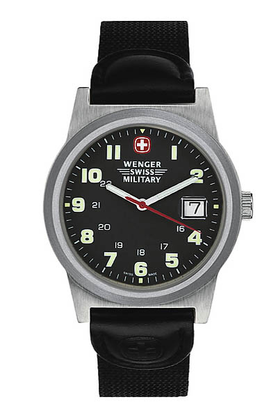 army shop wenger swiss military uhr field classic mit. Black Bedroom Furniture Sets. Home Design Ideas