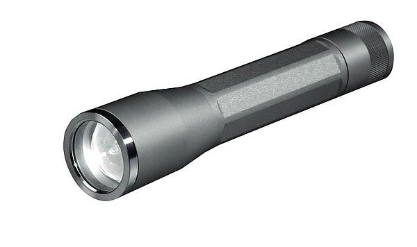Inova LED Flashlight X03, titanfarbenes Gehäuse, weißes Licht, 2 Lithium-Batterien Typ CR123A