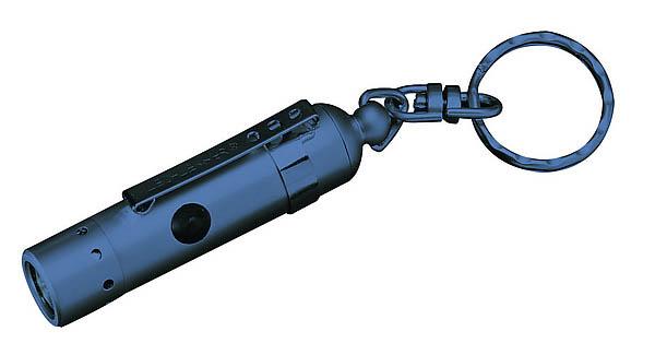 LED-Lenser V 8, weiße LED, blaues Gehäuse