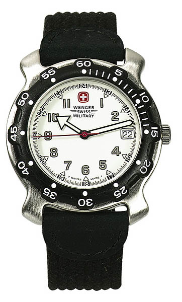 Wenger Swiss Military Uhr, Sea Barracuda, mit Nylon-Armband