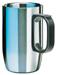 Isosteel-Designbecher, doppelwandiger Edelstahl, 0.4 Liter