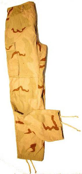Original U.S Wüstentarnhose, gebraucht
