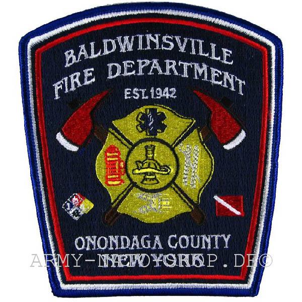 US Abzeichen Firefighter - Baldwinsville Onondaga County NY