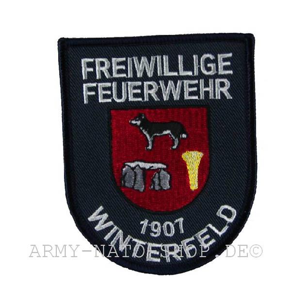 Deutsches Abzeichen Freiwillige Feuerwehr - Winterfeld 1907