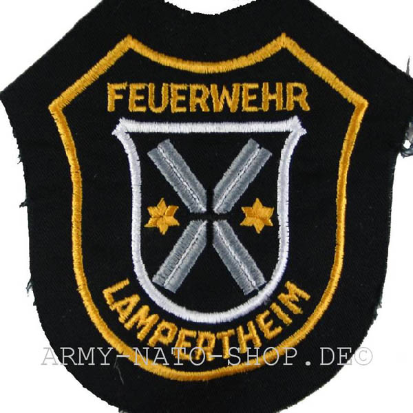 Deutsches Abzeichen Freiwillige Feuerwehr - Lampertheim