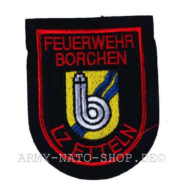 Deutsches Abzeichen Feuerwehr Borchen - LZ Etteln