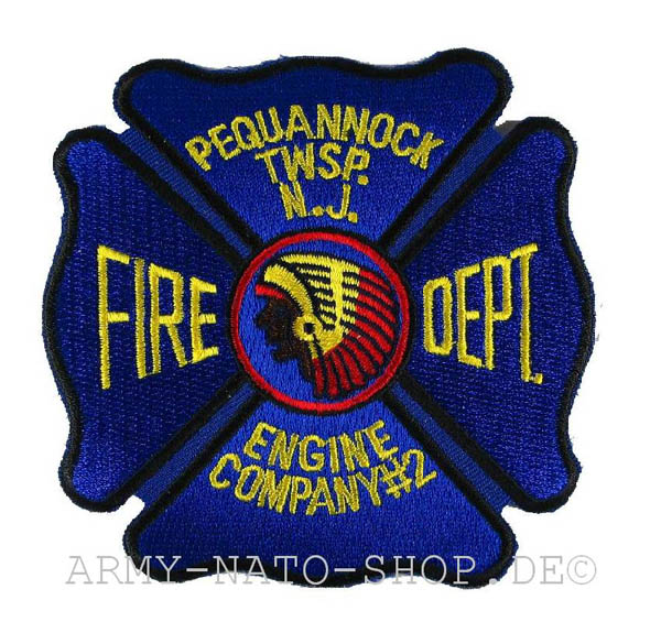 US Abzeichen Firefighter - Pequannock
