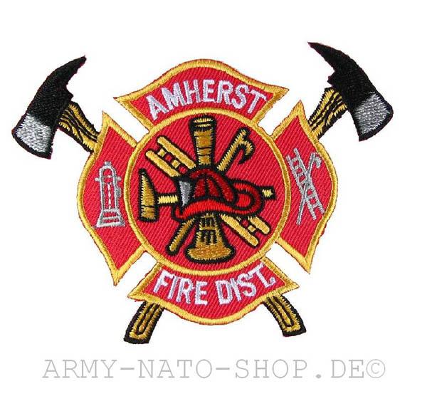 US Abzeichen Firefighter - Amherst