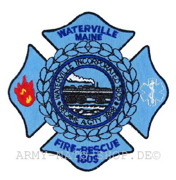 US Abzeichen Firefighter - Waterville Maine