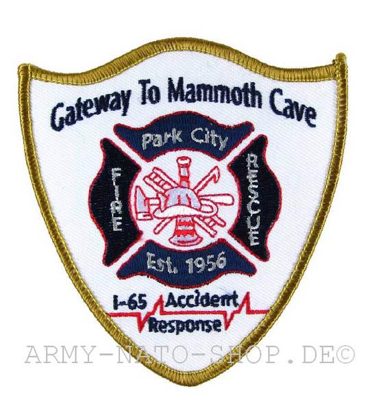 US Abzeichen Firefighter - Park City 1956