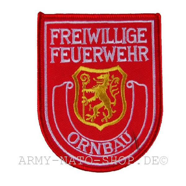 Deutsches Abzeichen Freiwillige Feuerwehr - Ornbau