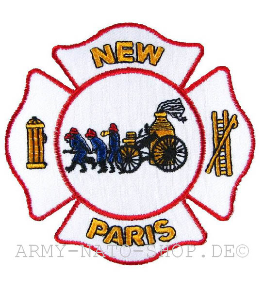 US Abzeichen Firefighter - New Paris