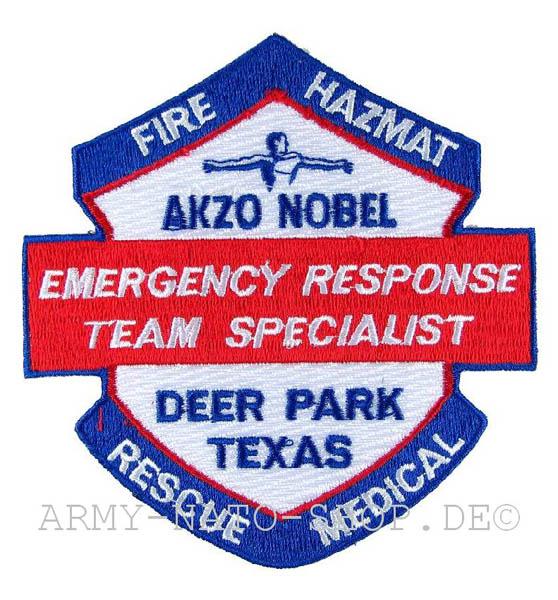 US Feuerwehr Abzeichen - Fire Hazmat