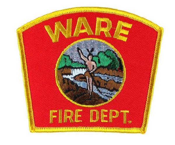 US Abzeichen Firefighter - Wire Fire Dept.