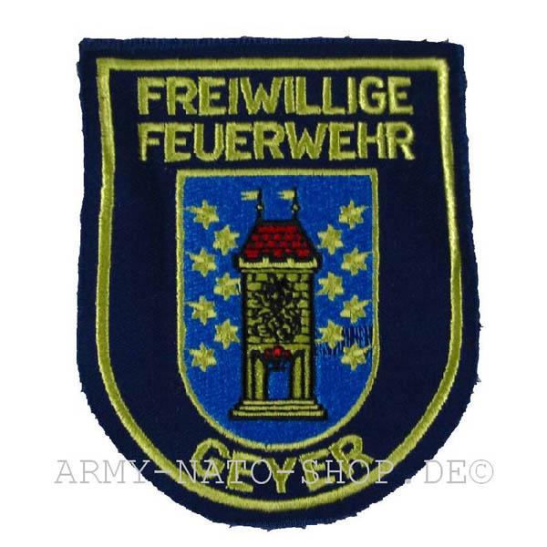 Deutsches Abzeichen Freiwillige Feuerwehr - Geyer