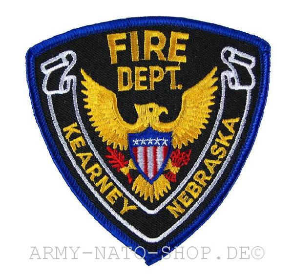 US Abzeichen Firefighter - Kearny Nebraska