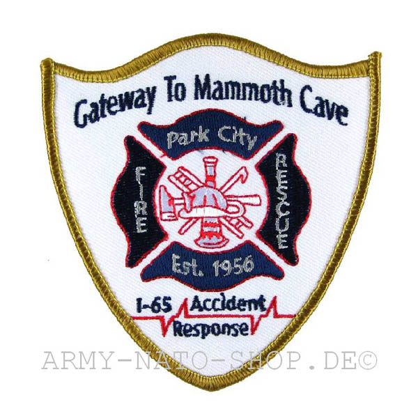 US Abzeichen Firefighter - Gateway to Mammoth Cave 1956