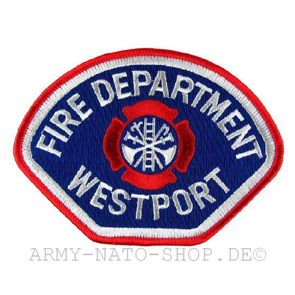US Feuerwehr Abzeichen- Westport