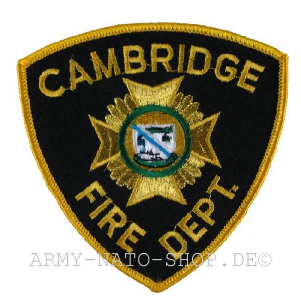 US Abzeichen Firefighter - Cambridge