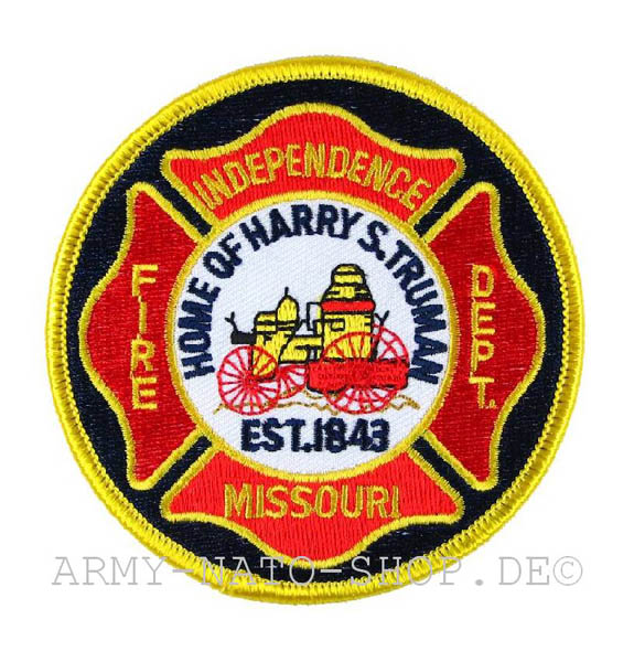 US Abzeichen Firefighter - Independence Missouri 1843