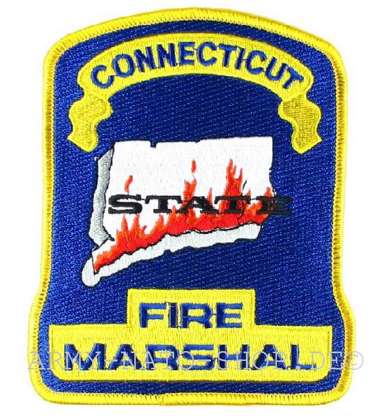 US Abzeichen Firefighter - Connecticut