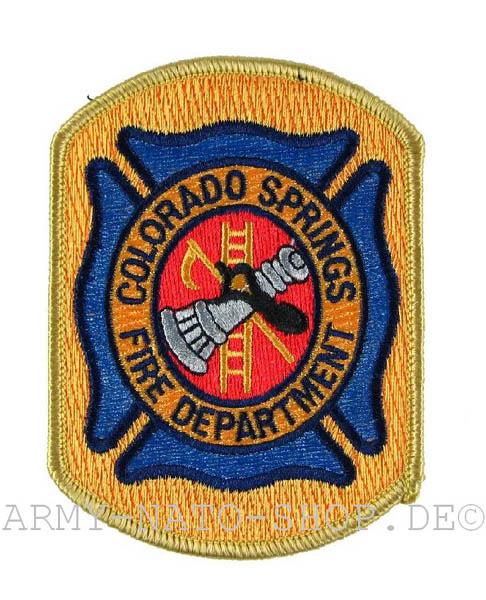 US Feuerwehr Abzeichen - Colorado Springs