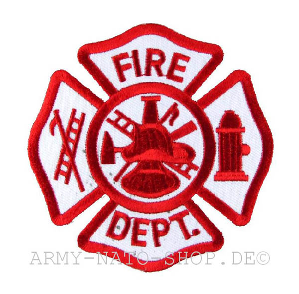 US Abzeichen Firefighter - Fire Dept.