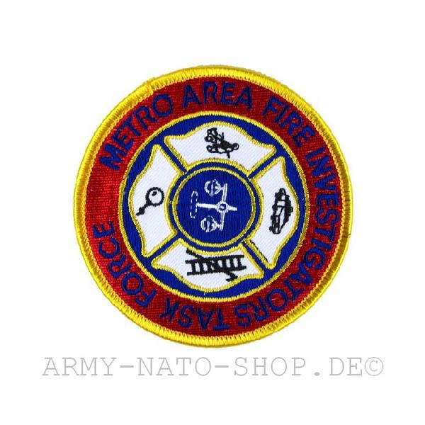 US Abzeichen Firefighter - Metro Area Fire.