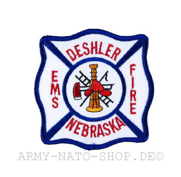 US Abzeichen Firefighter - Deshler Nebraska