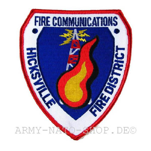 US Abzeichen Firefighter - Hicksville