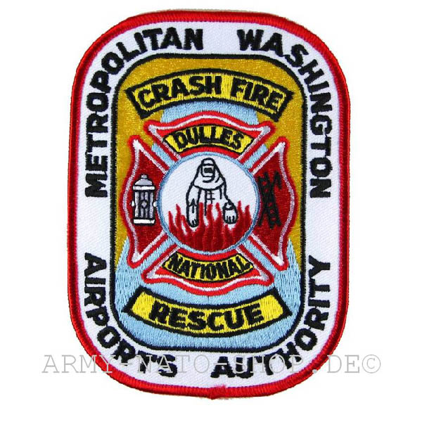 US Abzeichen Firefighter - Metropolitan Washington