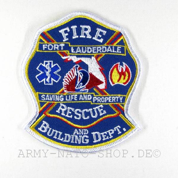 US Abzeichen Firefighter - Fort Lauderdale