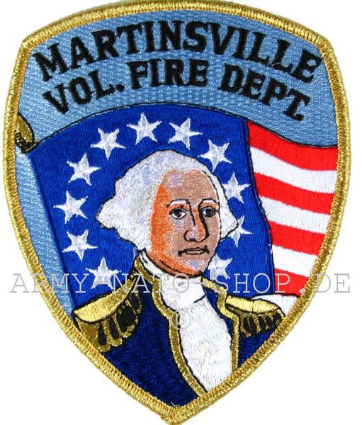 US Abzeichen Firefighter - Martinsville