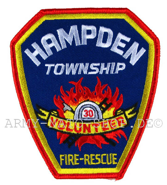 US Abzeichen Firefighter - Hampden Township