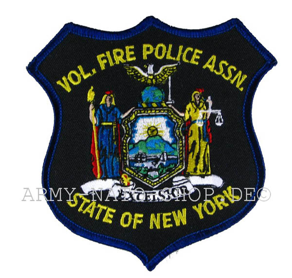 US Abzeichen Firefighter - State of New York