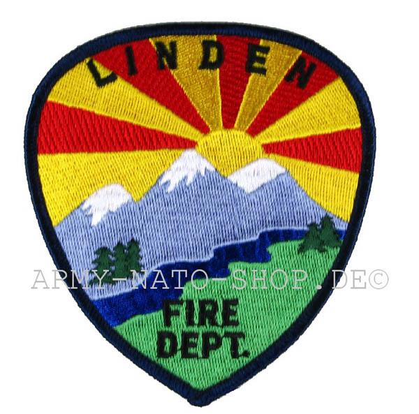 US Abzeichen Firefighter - Linden