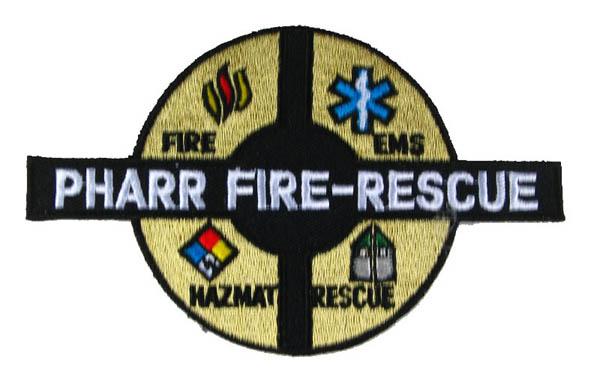 US Abzeichen Firefighter - Pharr fire rescue