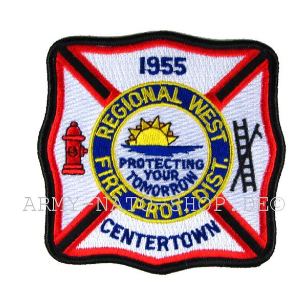 US Feuerwehr Abzeichen - Centertown 1955