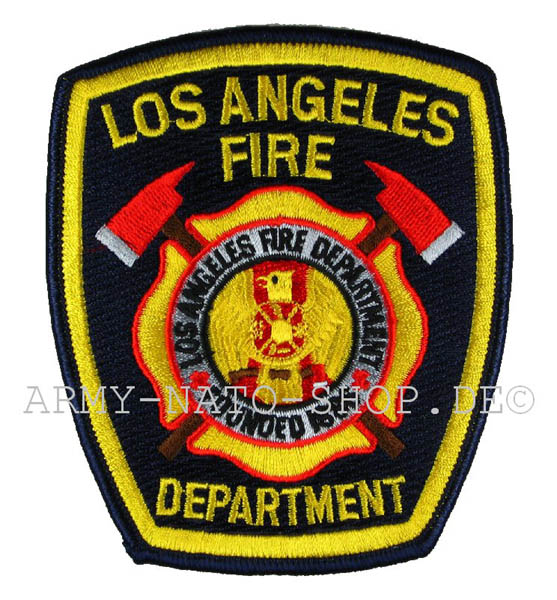 US Abzeichen Firefighter - Los Angeles
