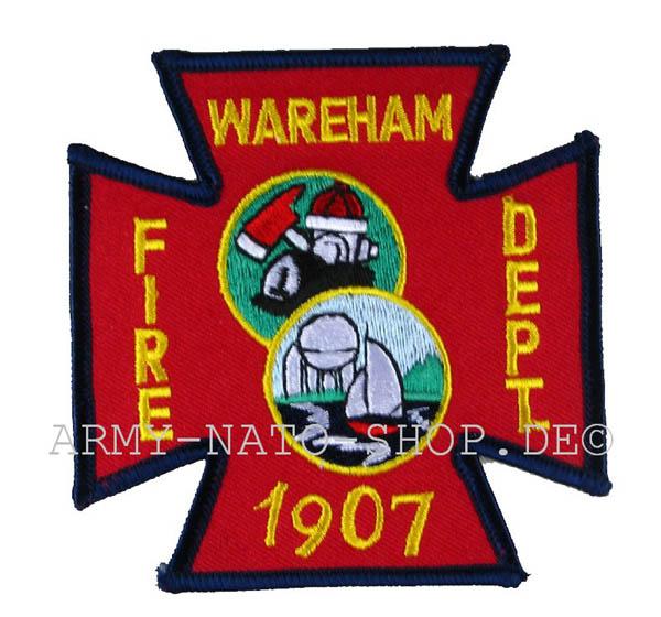 US Abzeichen Firefighter - Wareham 1907
