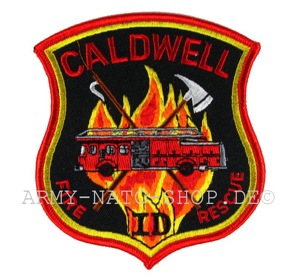 US Abzeichen Firefighter - Caldwell