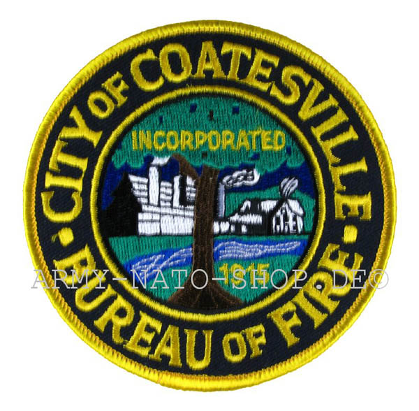 US Abzeichen Firefighter - City of Coatesville