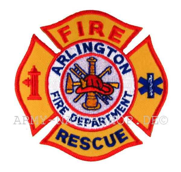 US Feuerwehr Abzeichen - Arlington