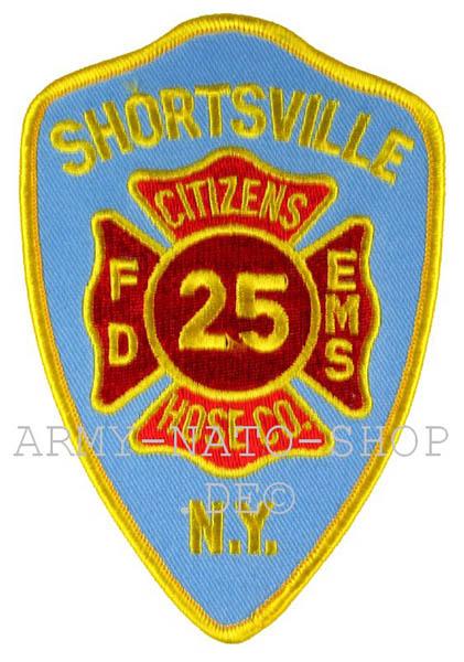 US Abzeichen Firefighter - Shortsville